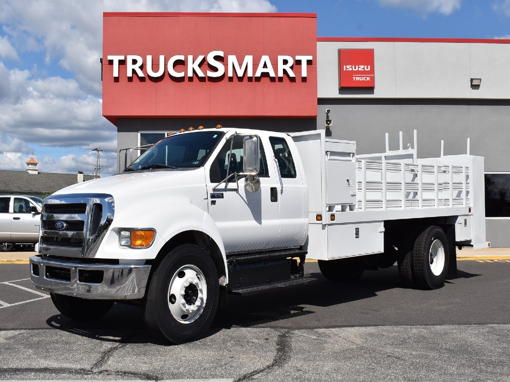 2012 FORD F650 Stake Body Truck #1